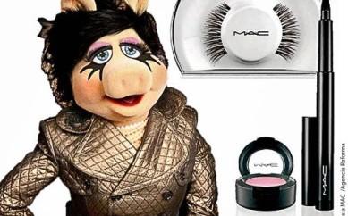 Una fashion icon particolare per Mac: Miss Piggy