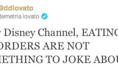"""Demi Lovato si scaglia contro la Disney :""""Non si scherza sui disturbi alimentari"""""""