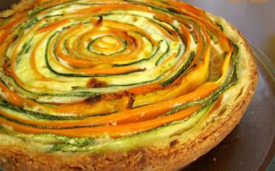 Crostata alle verdure (kcal 330 a porzione)
