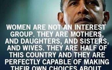 Perchè le donne amano Obama