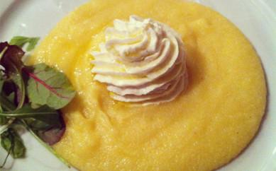 Baccalà mantecato su letto di polenta (Kcal 800 ca)