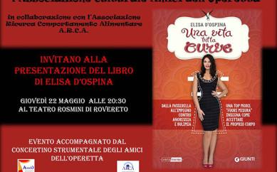 """""""Una vita tutta curve"""" in Tour. 22 maggio Rovereto (TN)"""