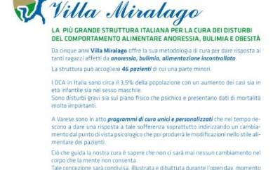 Giornata di sensibilizzazione sui disturbi alimentari, 18 giugno a Varese