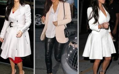 I look di Kim Kardashian