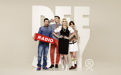 Oggi su Radio Deejay con La Pina