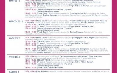 #Momsweek EUROMA2 sabato 9 maggio ore 11