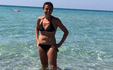Francesca Sanzo, 102 chili sull'anima