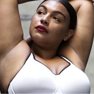 Nike, una modella plus size per pubblicizzare il nuovo reggiseno