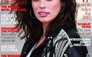 Ashley Graham sulla copertina di Vogue Uk ma tanti stilisti non han voluto vestirla