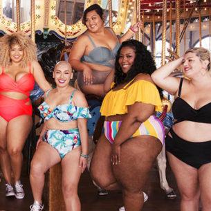 Gabi Fresh e la sua capsule con donne oversize