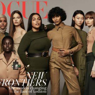 La cover di Vogue Uk di maggio celebra le donne