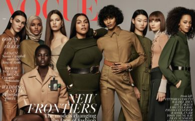La cover di Vogue Uk di maggio celebra le donne