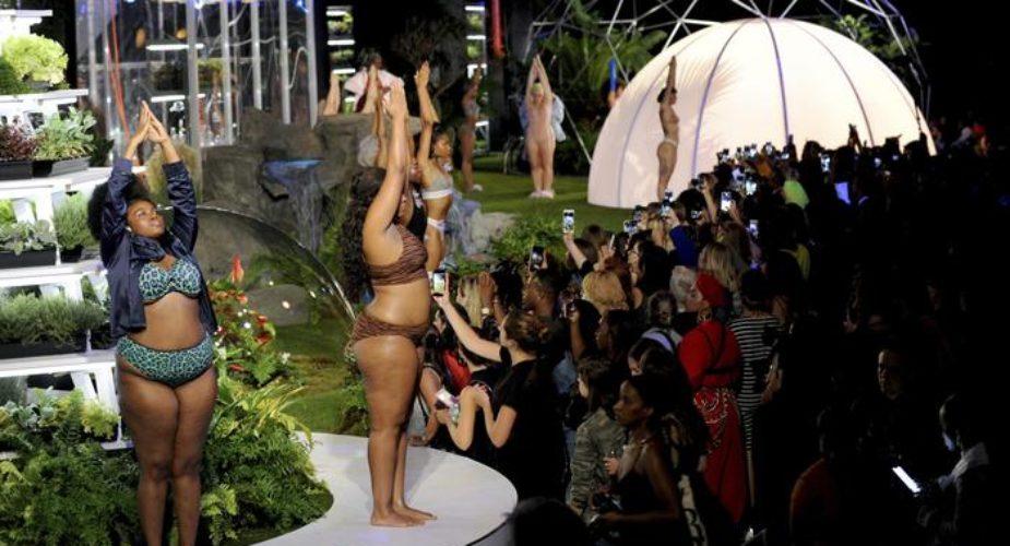 Rihanna stilista di lingerie, in passerella modelle curvy e incinte