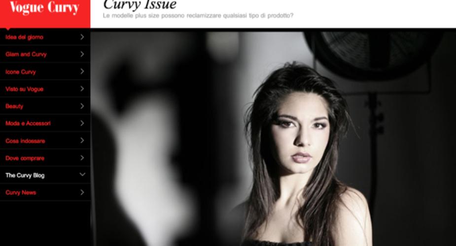 Vogue Italia cancella la sezione curvy