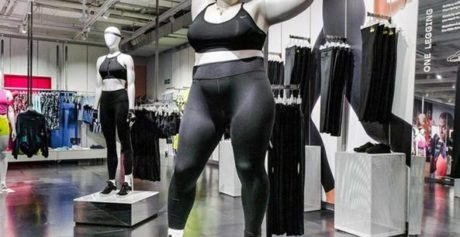 Nike e i manichini plus size