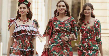 Dolce&Gabbana e il mondo curvy/plus size: la collezione arriva fino alla taglia 54