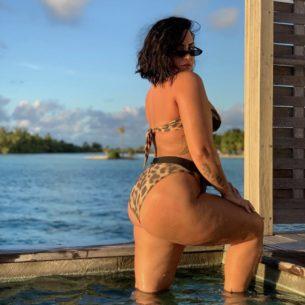 Demi Lovato e la foto con la cellulite con più di 5,5 milioni di like