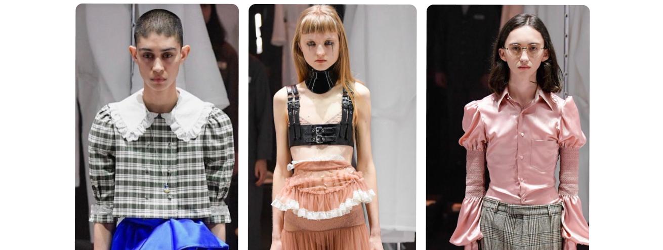 Gucci e l'uso di modelle in evidente sottopeso alla Milano Fashion Week 2020