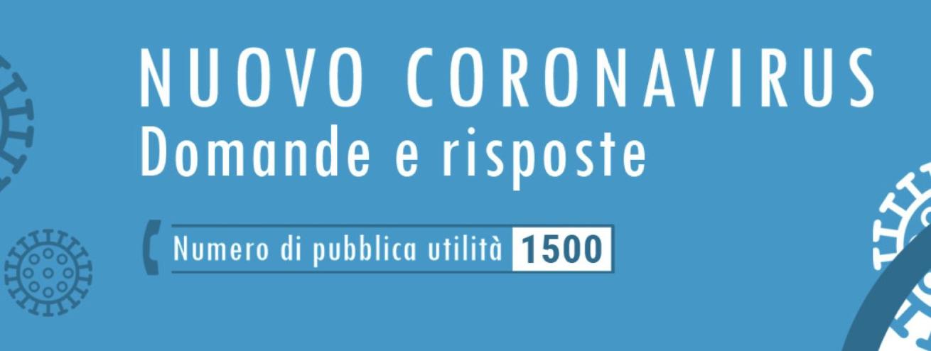 Coronavirus, informazioni utili